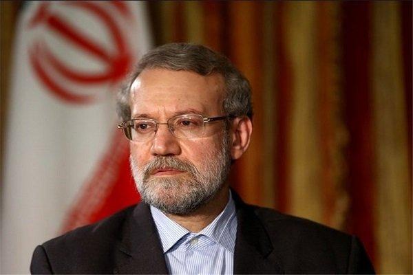 لاریجانی وارد تهران شد
