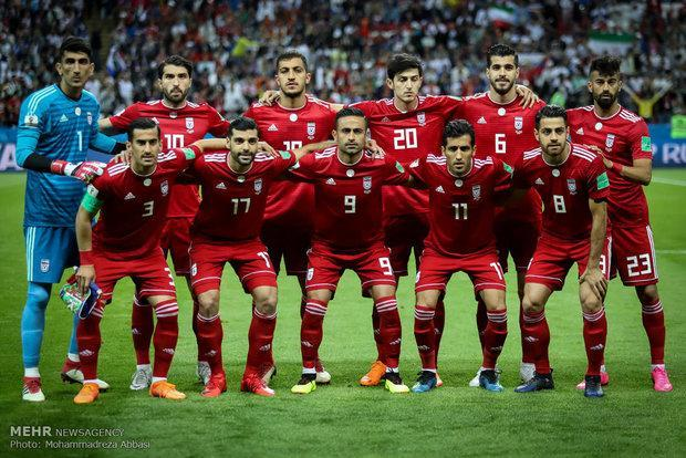 رنگ پیراهن تیم ملی ایران تعیین شد