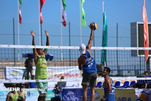 قزاقستان قهرمان مسابقات تور جهانی والیبال ساحلی کاسپین شد
