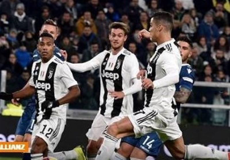فوتبال دنیا، یوونتوس با نهمین گل رونالدو دوازدهمین برد را به دست آورد