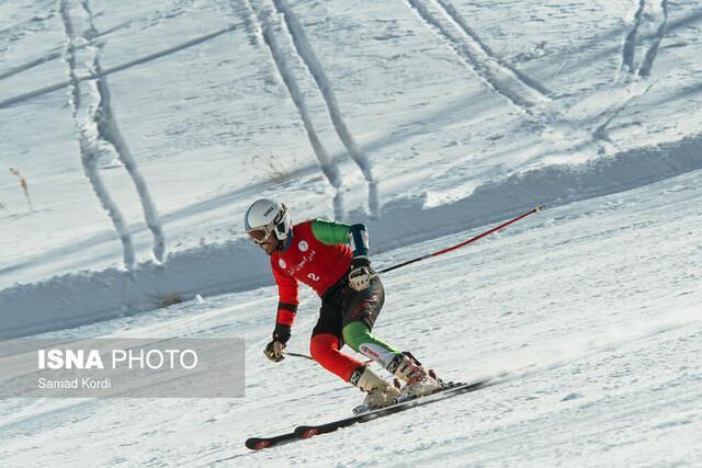 آخرین اسکی باز ایران به خط خاتمه قهرمانی دنیا نرسید