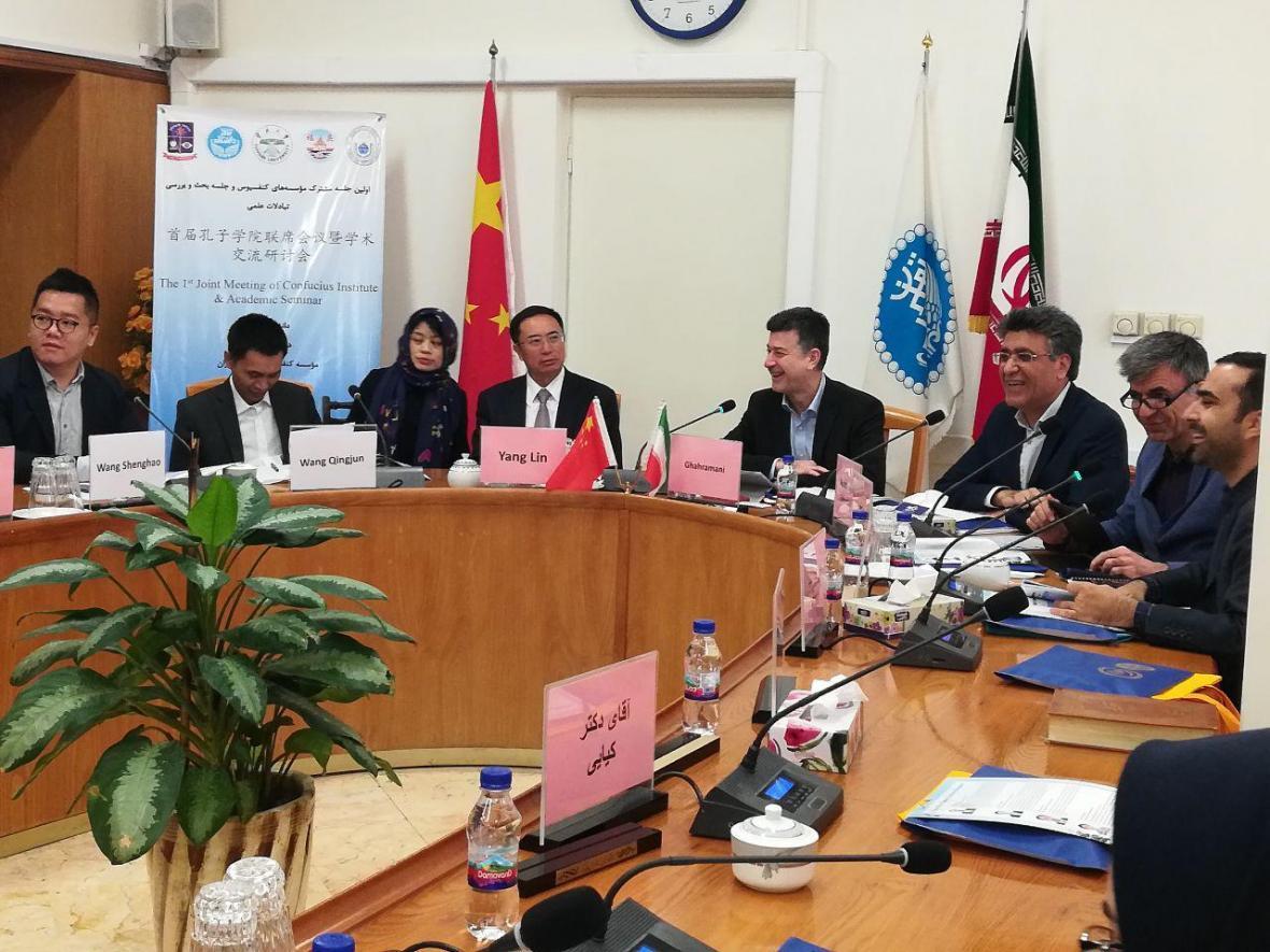 دانشگاه تهران و یون نن چین مناسبات خود را گسترش می دهند