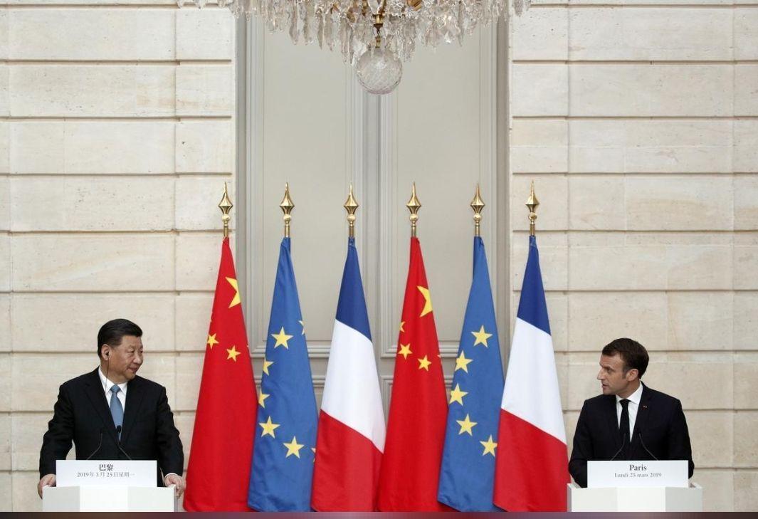 پاریس و پکن 30 توافق همکاری امضا کردند