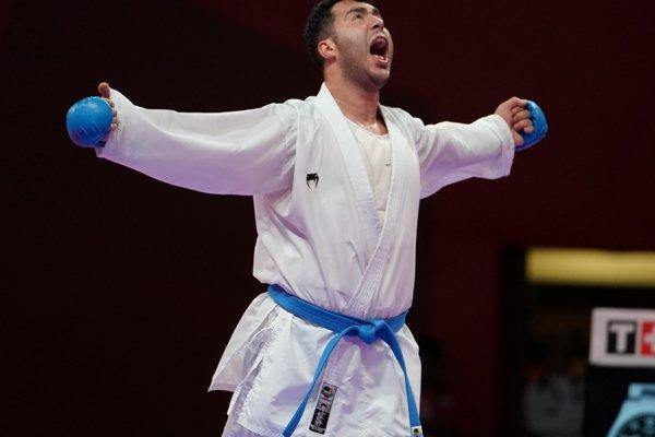 گنج زاده به دیدار نهایی صعودکرد، کوشش 3 کاراته کا برای مدال برنز