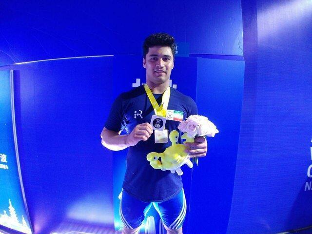 نایب قهرمانی موسوی در وزنه برداری آسیا، حمله ناموفق تیان تائو به رکورد سهراب مرادی