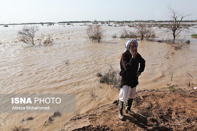 50 درصد از ضربه سیلاب به شهرستان اهواز وارد شد