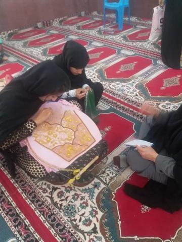 برگزاری آزمون صنایع دستی در کوخرد بستک