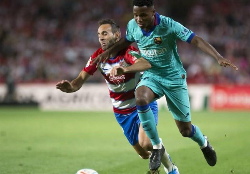 لالیگا، تداوم نتایج ضعیف خارج از خانه بارسلونا با شکست مقابل گرانادا