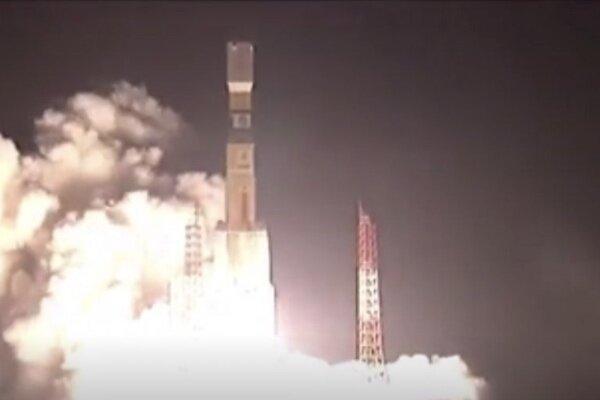 کپسول باری ژاپنی به فضا پرتاب شد
