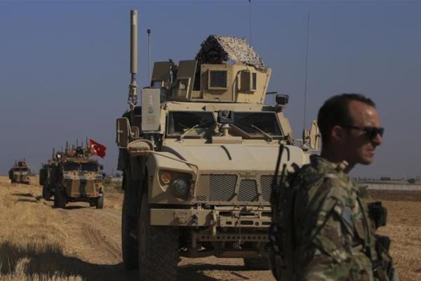 درگیری نیروهای دموکراتیک کُرد سوریه با ارتش ترکیه در منطقه مرزی