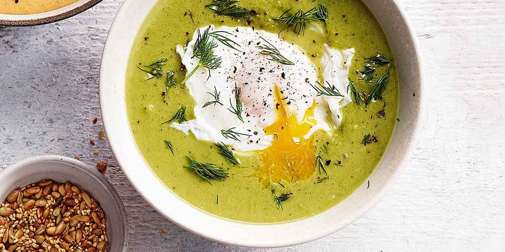 طرز تهیه سوپ کاهو به دو روش