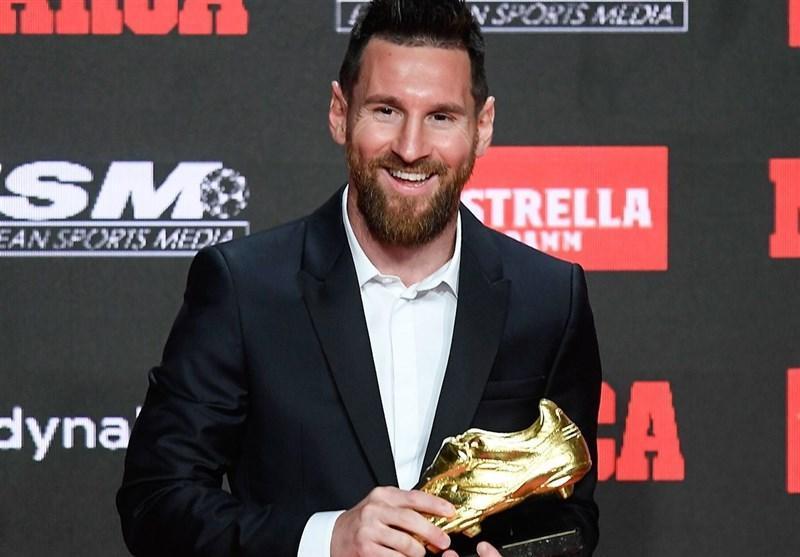 مسی پس از دریافت ششمین کفش طلا: قهرمانی در لالیگا مهمترین موضوع است