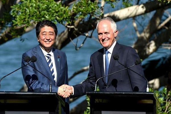 محورهای تماسی تلفنی نخست وزیر ژاپن با همتای استرالیایی