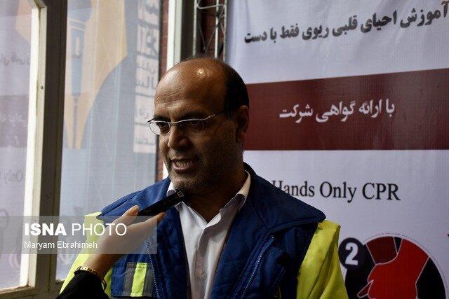 بازدیدنمایندگان نمایشگاه کتاب تبریز برای آموزش احیاء قلبی-ریوی به غرفه اورژانس مراجعه نمایند