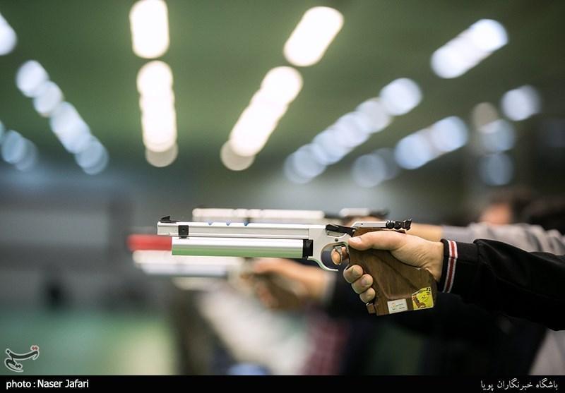 تیراندازی قهرمانی آسیا، رقابت 5 ملی پوش ایران در روز سوم رقابت ها