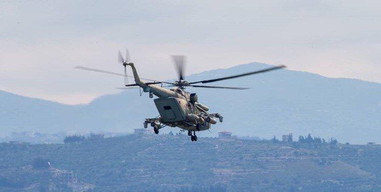 آغاز گشت زنی بالگردهای روسیه در شمال سوریه