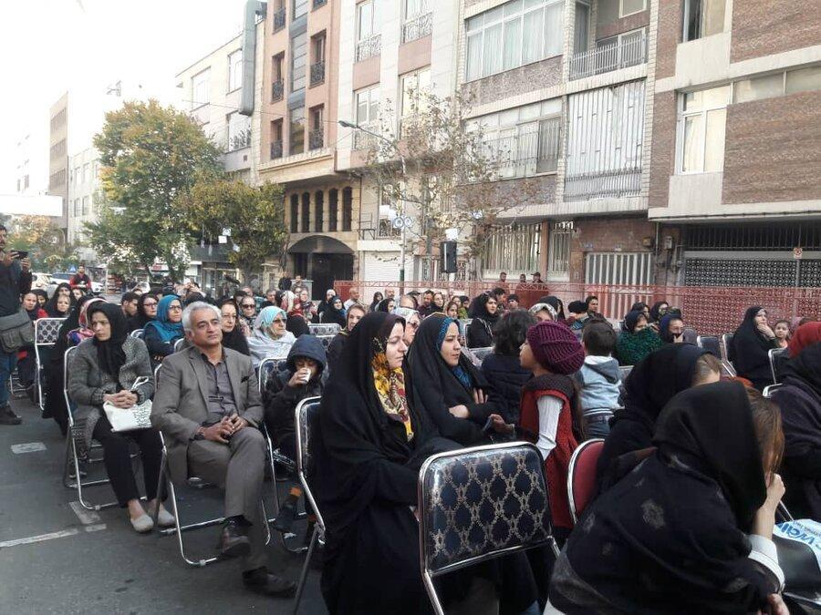 همایش دیابت در میدان شعاع برگزار شد