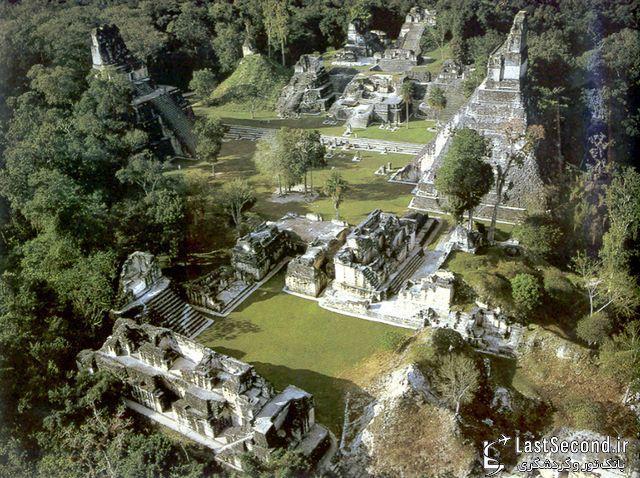 جنگل اسرارآمیز تیکال در گواتمالا