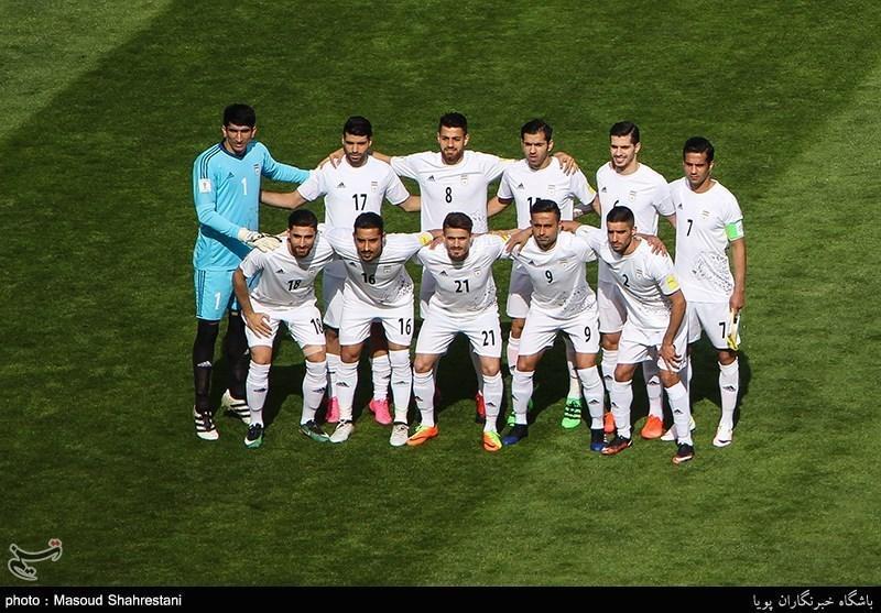 صندلی تیم ملی فوتبال ایران در آسیا و دنیا تغییر نکرد