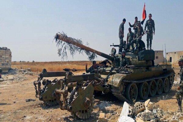 ارتش سوریه مواضع تکفیری ها در حومه ادلب را درهم کوبید