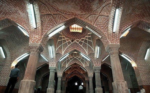 مسجد 63 ستون بازار تاریخی تبریز به بهره برداری رسید