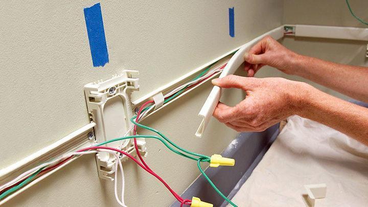 برق کشی روکار ساختمان: روش اجرای سیم کشی اصولی