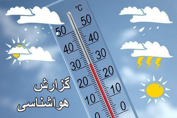بارش باران و وزش تندباد ها در کرمان