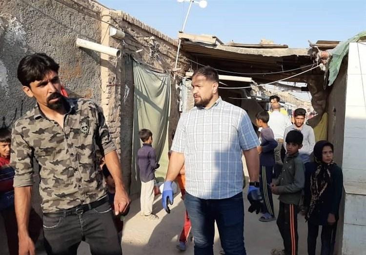 (عکس) قهرمان المپیک در مناطق محروم