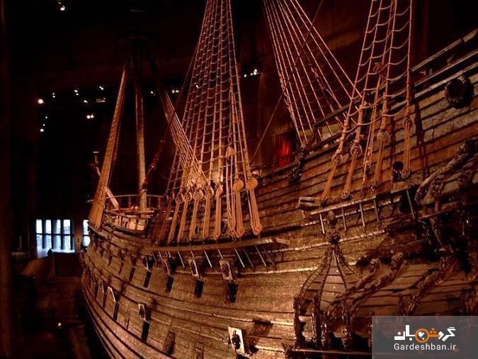 تماشای تنها کشتی قرن هفدهمی از دریای بالتیک