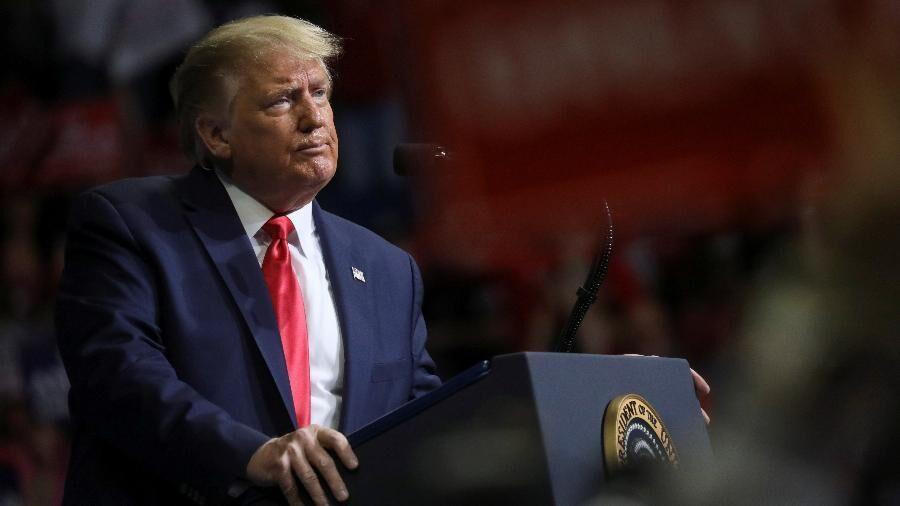 لقب بی عرضه ترامپ به دموکرات ها در کنترل اعتراضات