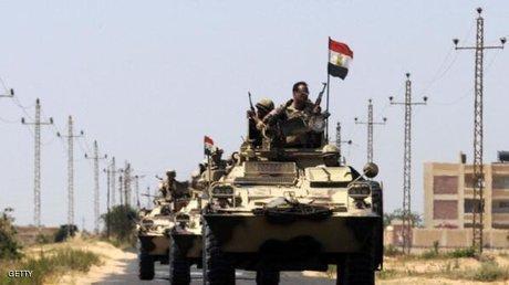 جنگنده های مصری به مواضع تروریست ها در سیناء حمله کردند