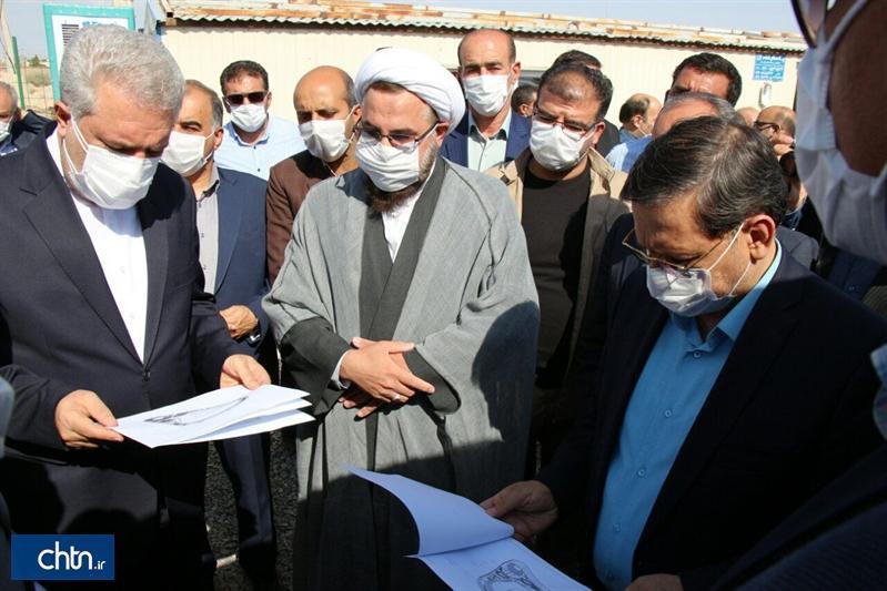 بازدید دکتر مونسان از پروژه عظیم ترین مجتمع گردشگری استان سمنان