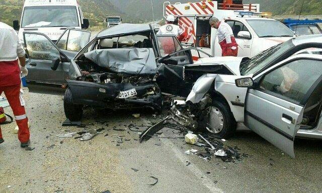 تصادف در محور مریوان-سروآباد 2 کشته برجای گذاشت