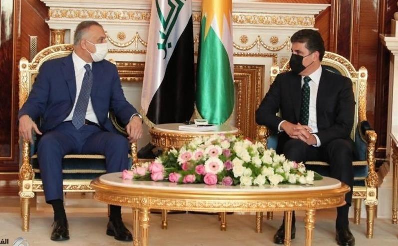 ملاقات نخست وزیر عراق با رئیس اقلیم کردستان در اربیل
