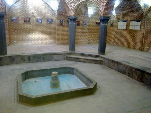 قدیمی ترین حمام در نخستین شهر شطرنجی ایران