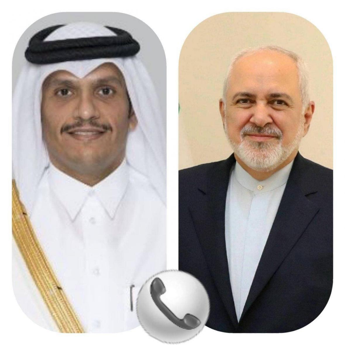 خبرنگاران گفت وگوی وزرای خارجه ایران و قطر درباره لزوم مشارکت کشورهای منطقه
