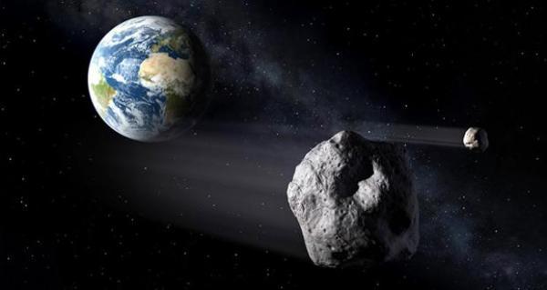 سه سیارک به زمین نزدیک می شوند