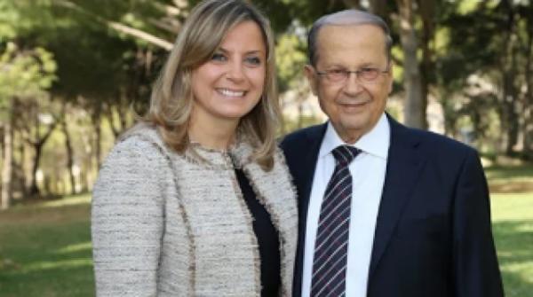 ابتلای دختر رئیس جمهور لبنان به کرونای انگلیسی