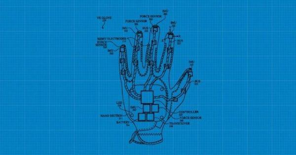 اختراع جدید اپل یک دستکش واقعیت مجازی است