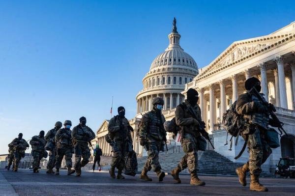 خبرنگاران چهارمین روز محاکمه ترامپ؛ حضور بیش از 6 هزار گارد ملی در اطراف کنگره