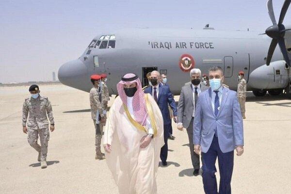 سفر هیات عالی رتبه وزارت دفاع عراق به عربستان