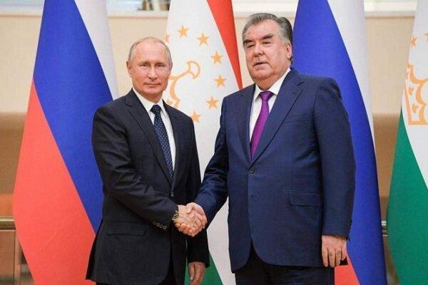 گفتگوی پوتین و امام علی رحمان درباره اوضاع سخت در مرز تاجیکستان