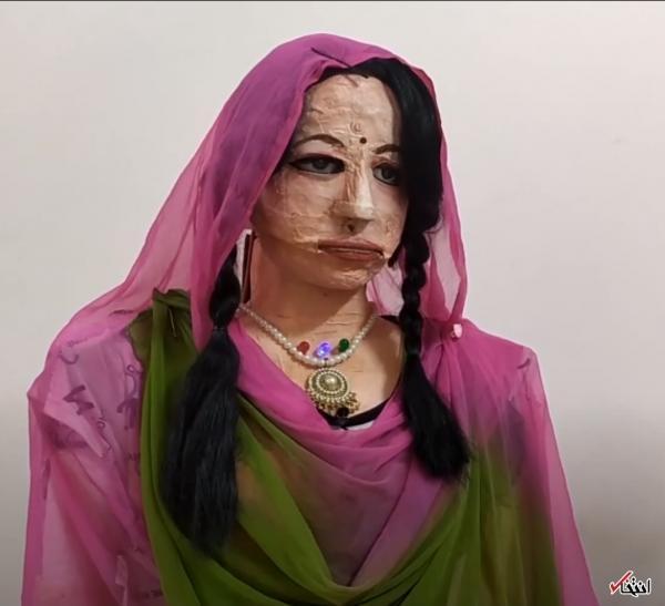 ملاقات با نخستین ربات انسان نمای هند