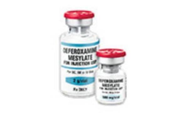 دفروکسامین (DEFEROXAMINE)